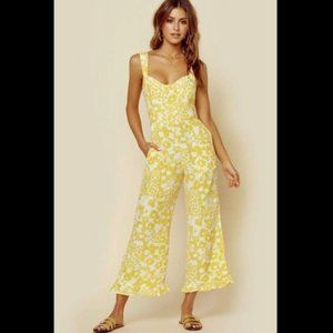 NEW Faithfull The Brand Kasbah Floral Jumpsuit